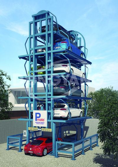 Family Parking System Parking Towers Pinterest Spaces