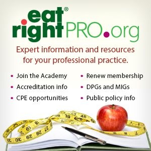eatright.org| Academy Nutrition and Dietetics