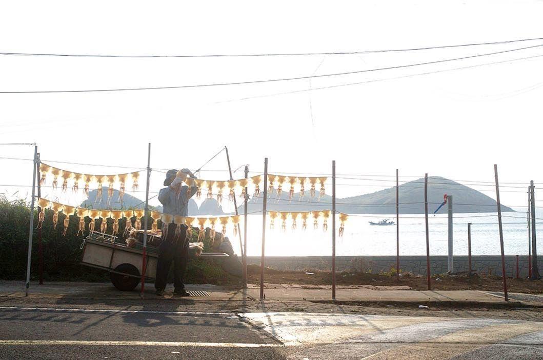 차귀도 일몰풍경 Sunset scenery of Chagwido #제주 #차귀도 #오징어 #반건조 #일몰 # 풍경 #2주전 #사진 #jeju #chagwido #squid #halfdried #sunset #landscape #photo by minstagraphy