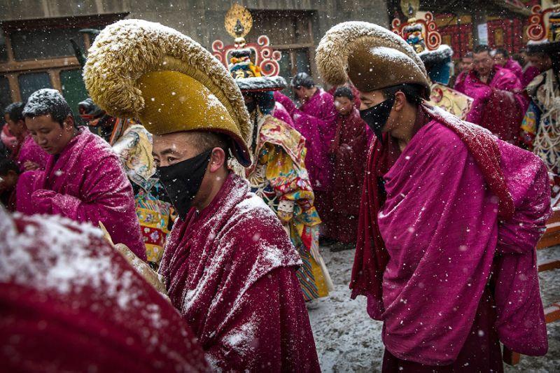 tibetan-buddhist-monks-labrang-monastery - ค้นหาด้วย Google