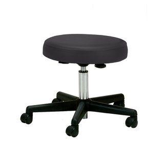Earthlite Pneumatic Adjustable Rolling Massage Therapist Stool