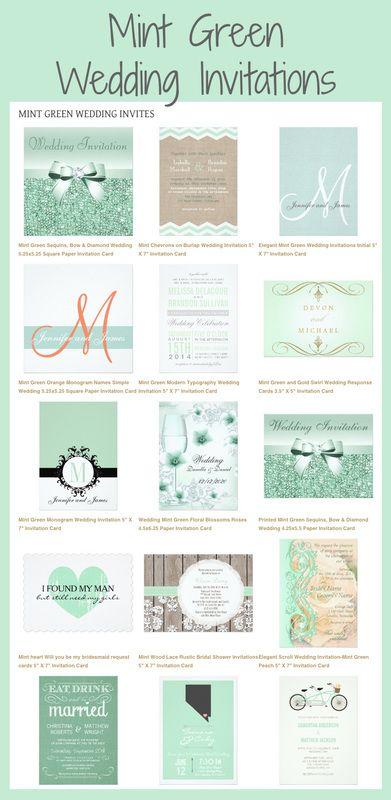 Mint Green Wedding Invitations Minted Wedding Invitations Wedding Mint Green Wedding Invitations Mint Green