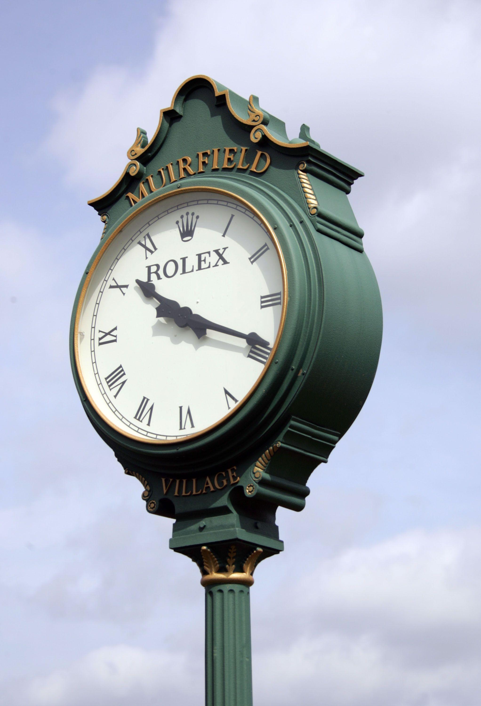 The Muirfield Village Golf Course Clock