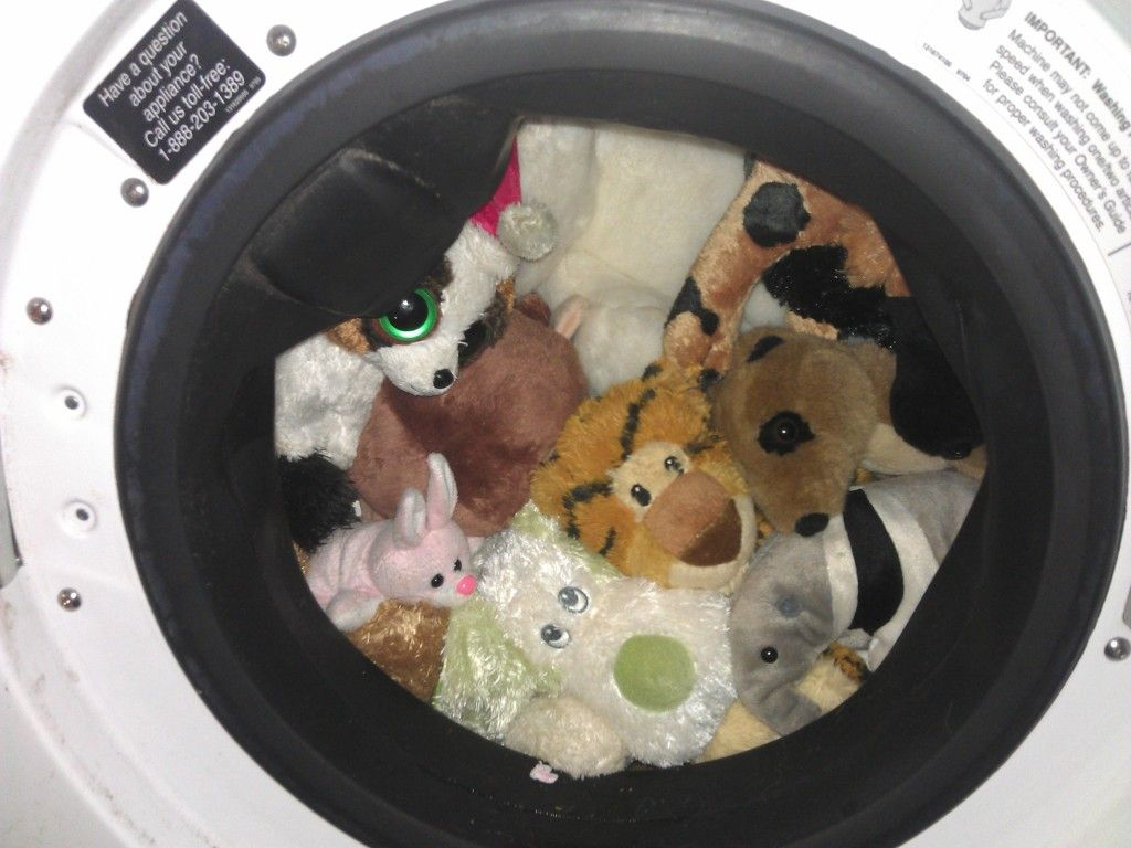 The Friends Get A Bath Clean Stuffed Animals Washing Stuffed