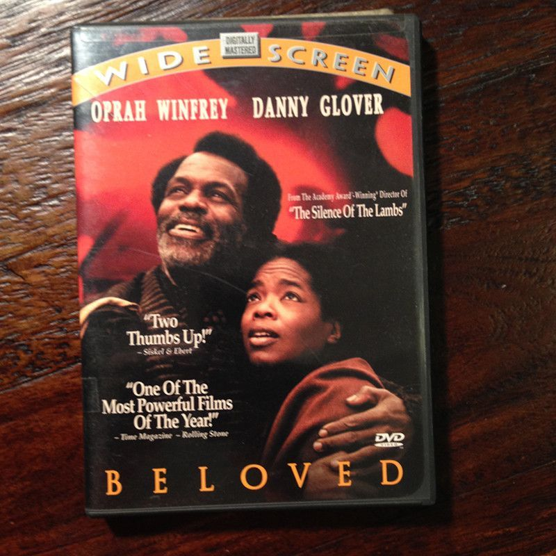Beloved DVD Oprah Winfrey, Danny Glover. Used. Good