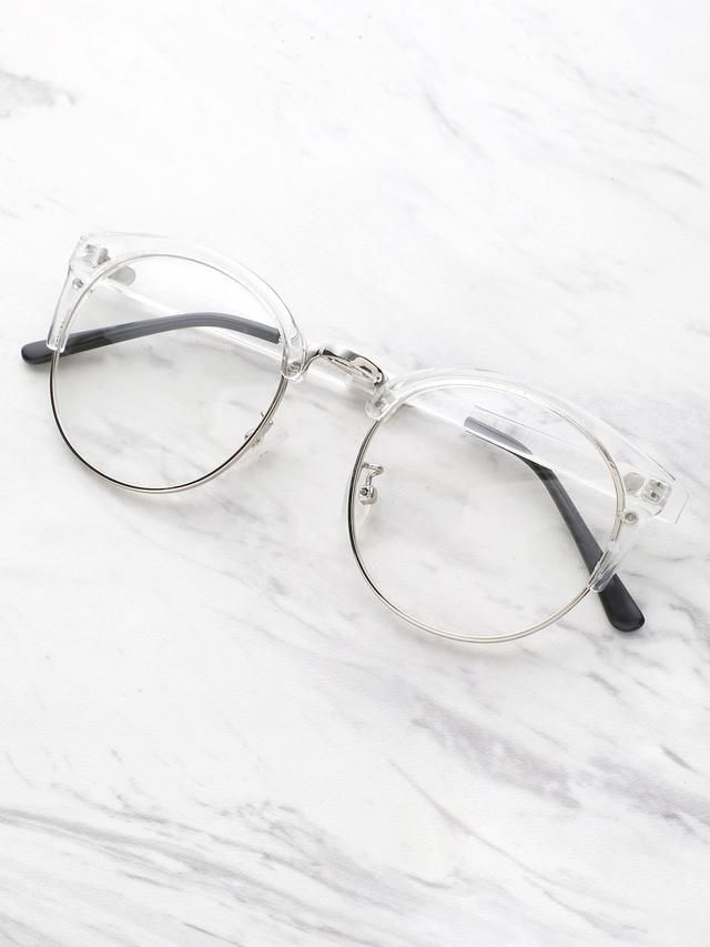 1bb513579d5d Clear Frame Glasses With Clear Lens