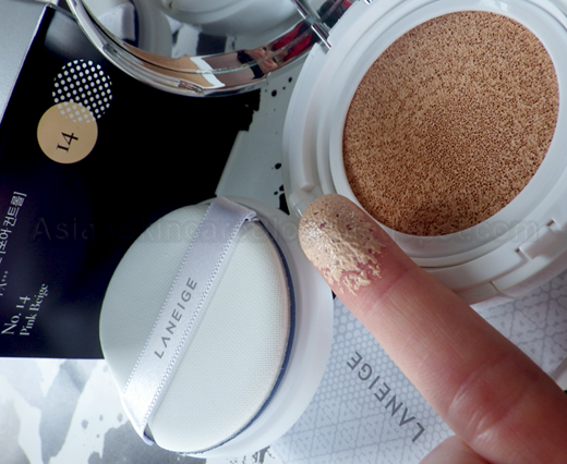 Laneige Bb Cushion Pore Control No 13 True Beige And No 14 Pink