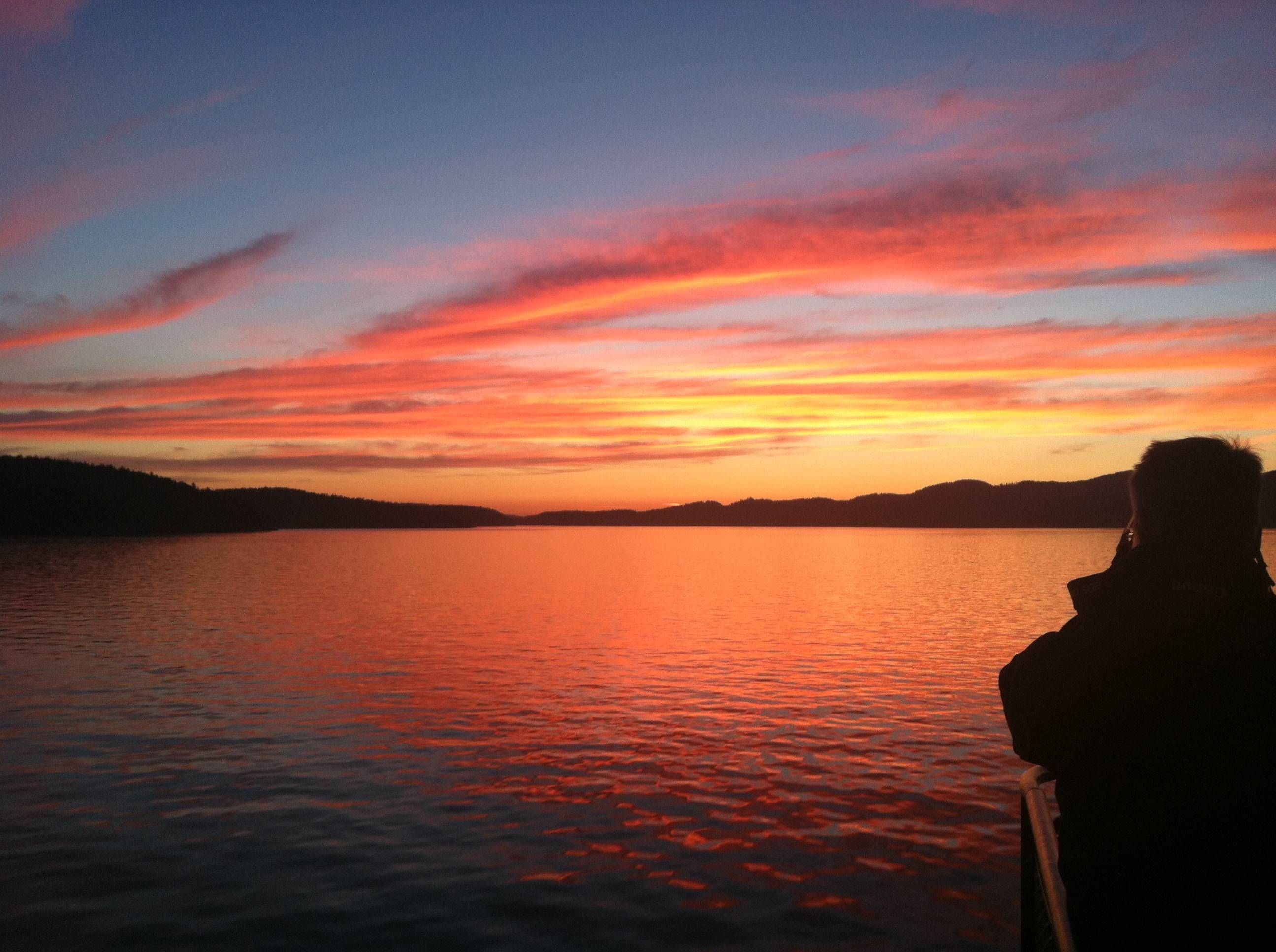 Took this on a ferry ride to Orcas Island, WA with my