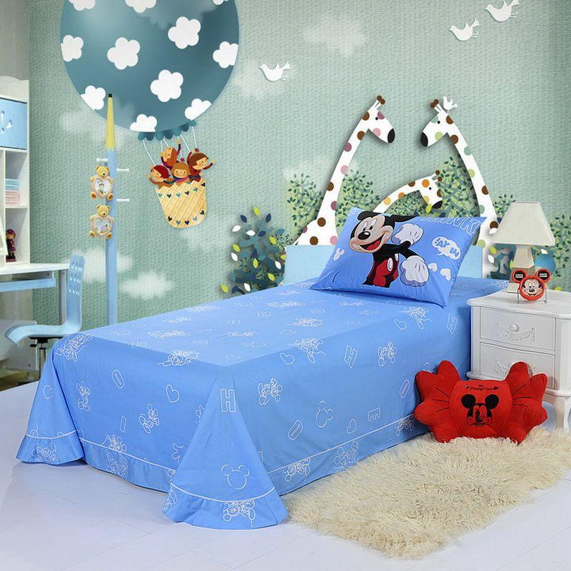 Mickey Mouse Sky Blue Disney Sheet Set