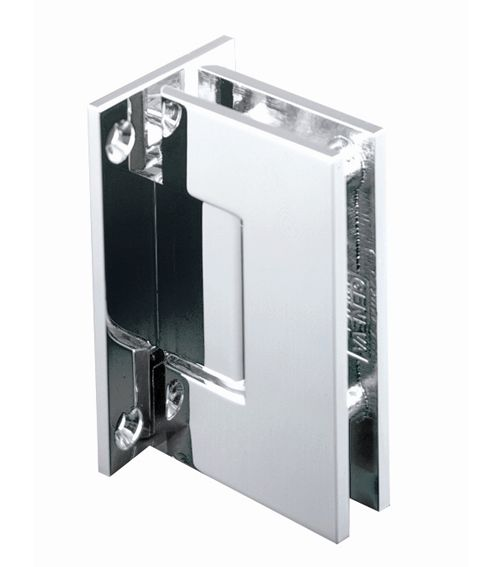 Square Edge Wall To Glass Shower Hinge To Suit 8 12mm Glass Shower Door Hardware Glass Door Hinges Glass Shower