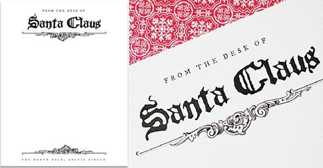 Free santa claus letterhead santa stationary and free printable free santa claus letterhead celebrations at home spiritdancerdesigns Image collections
