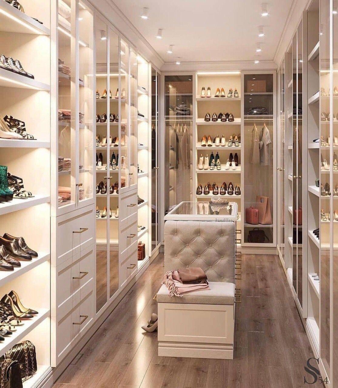 Linen Closet Out Line Wardrobestoragecloset Dream Closet Design House Design Walk In Closet Design