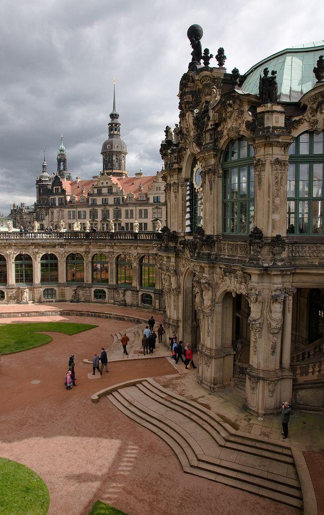 Zwinger Glockenspielpavillon Germany Castles Germany Dresden