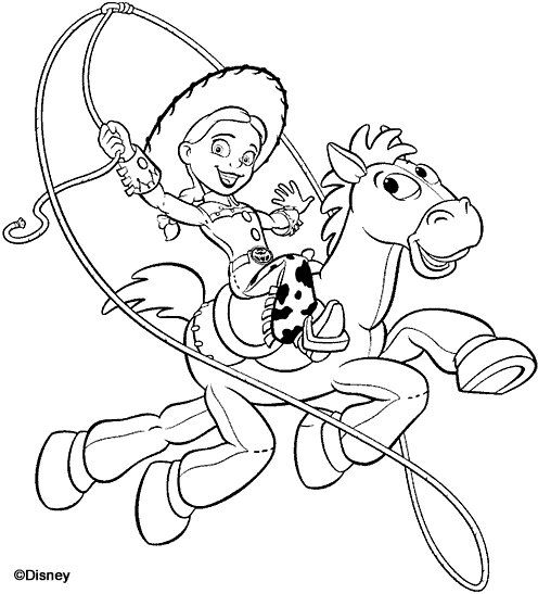 Toy Story Of Terror Coloring Pages Portraits