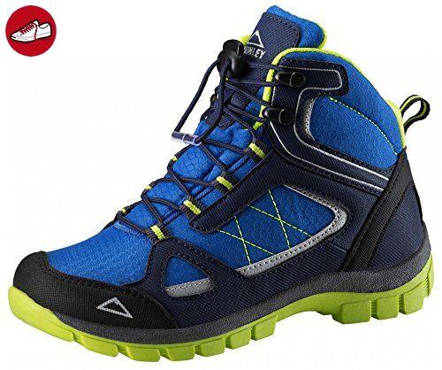 McKINLEY Multi-Stiefel Kona Mid II AQX JR, blue/ blue dark/ rot,38