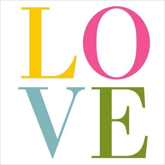 Love, love, love.