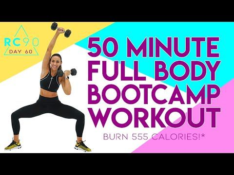 50 Minute HIIT Full Body Boot Camp Workout 🔥Burn 555 Calories!* 🔥 Day 60 | RC90 -   17 fitness Body boot camp ideas