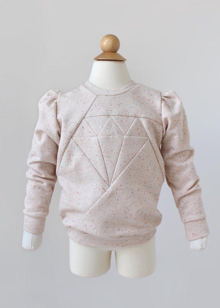 Dia Kids Sweater & Tunic PDF Sewing Pattern | Sewing | Sewing