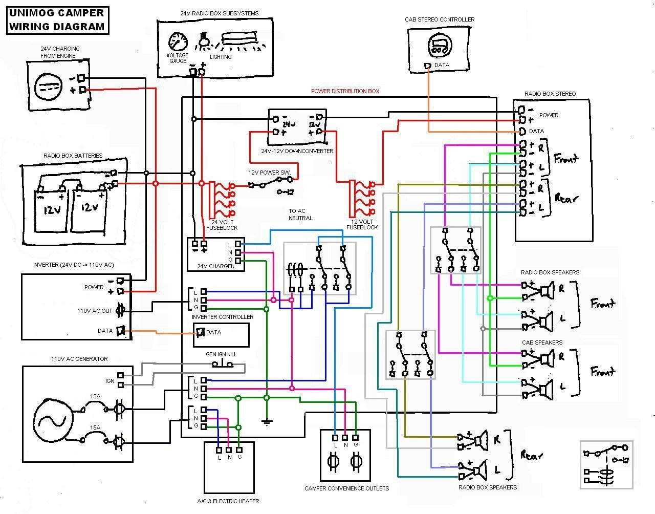 image result for campervan electrical wiring diagram [ 1280 x 1004 Pixel ]