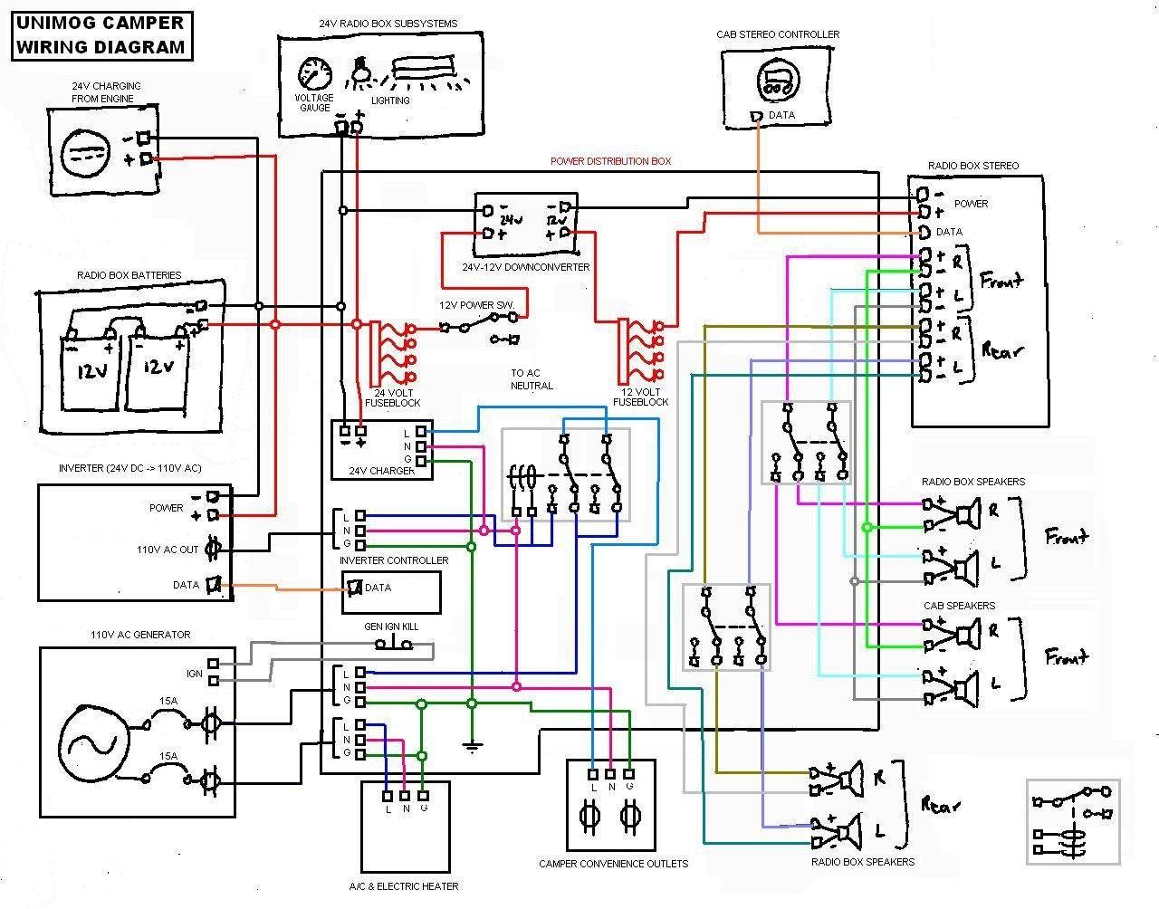 Image Result For Campervan Electrical Wiring Diagram Trailer Wiring Diagram Electrical Wiring Diagram Boat Wiring
