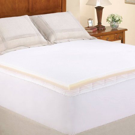 Buy Mainstays 15 Memory Foam Combo Mattress Topper at Walmartcom
