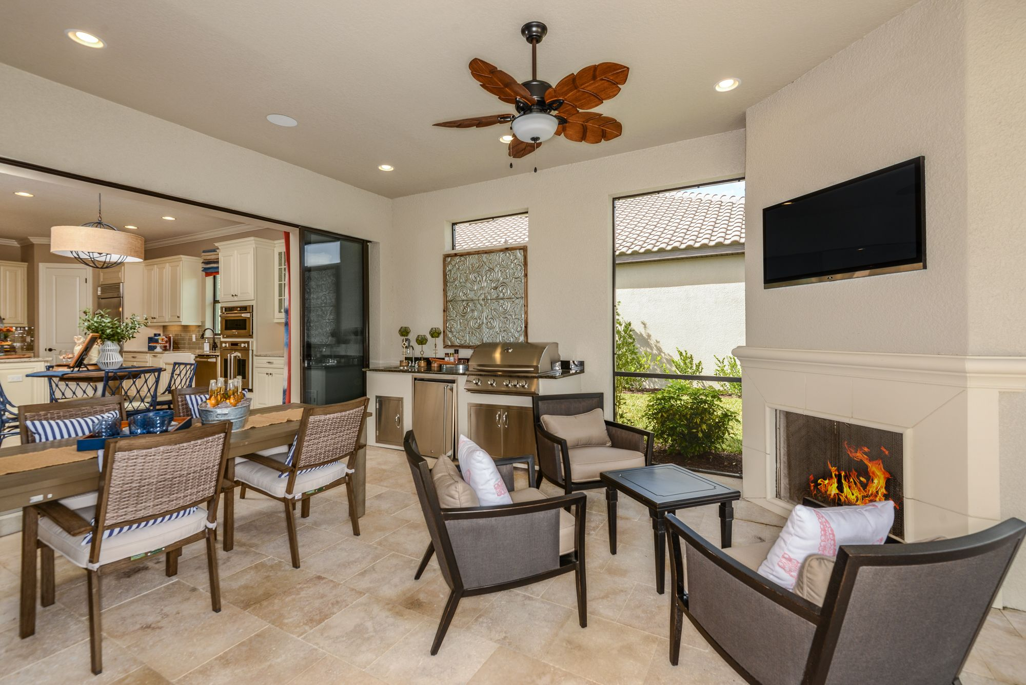 Dreaming Of Summer Bbqs In January In Florida You Don T Have To Wait Backyard Patio Outdoorentertaining Newhome Naple New Homes Home Interior Styling