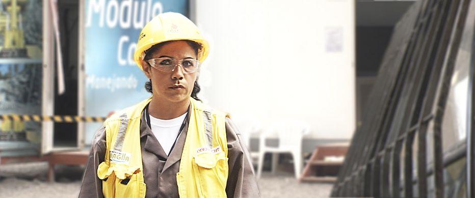 Amanda Cuevas, heavy equipment operator