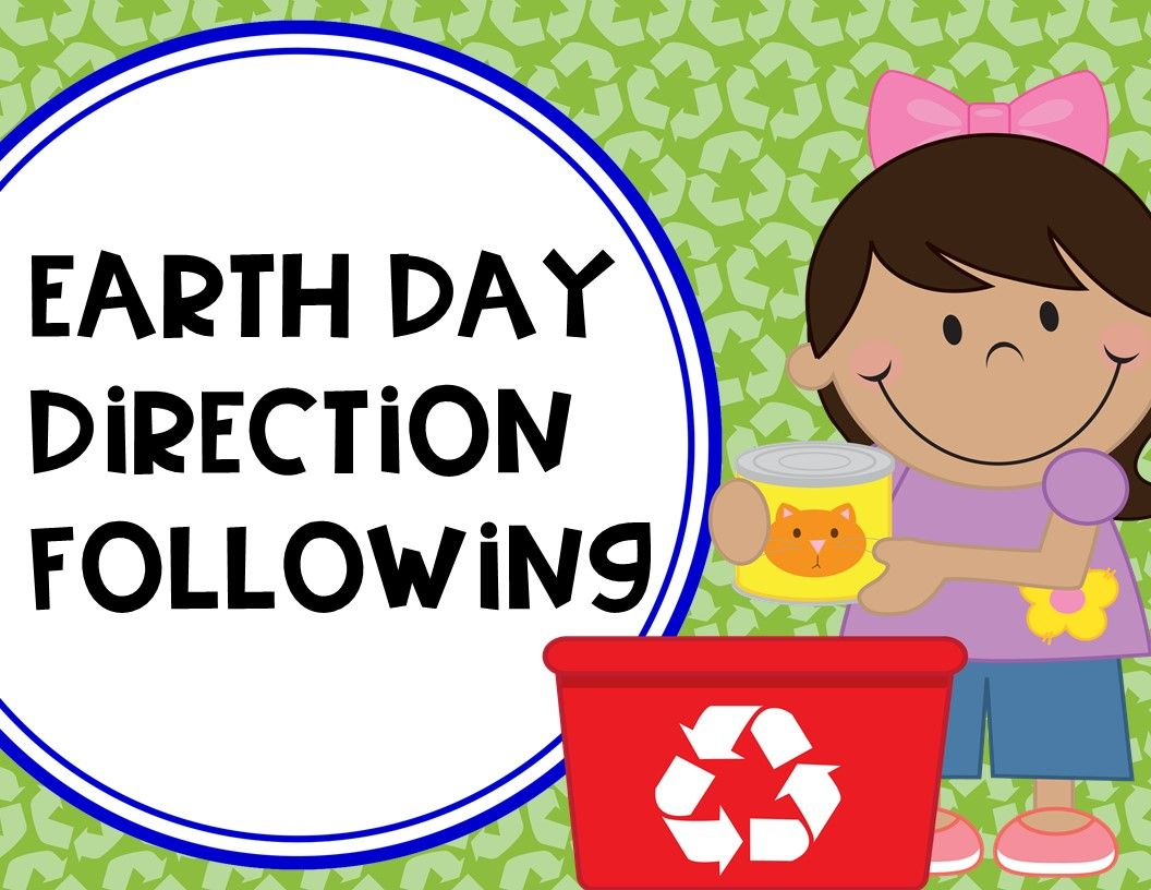 Earth Day Direction Following