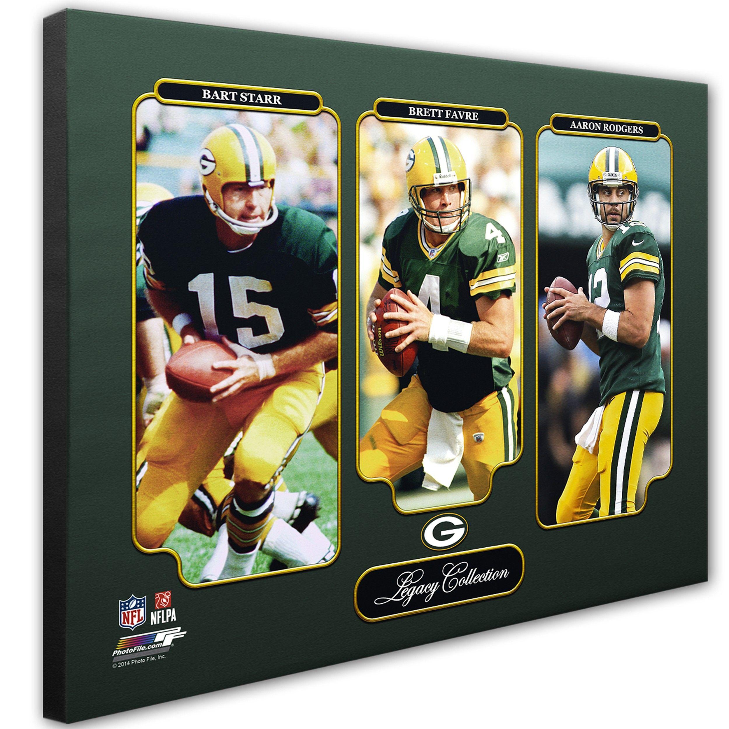 Green Bay Packers Qb Legacy Canvas Green Bay Packers Packers Pro Shop Green Bay