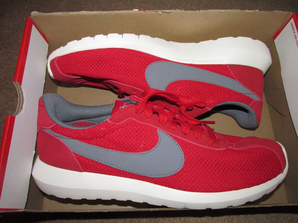 outlet store 49b2c 2c975 Nike Roshe LD-1000 QS Mens Casual Running Shoes Sport Red Cool Grey 802022  600  Nike  RunningCrossTraining