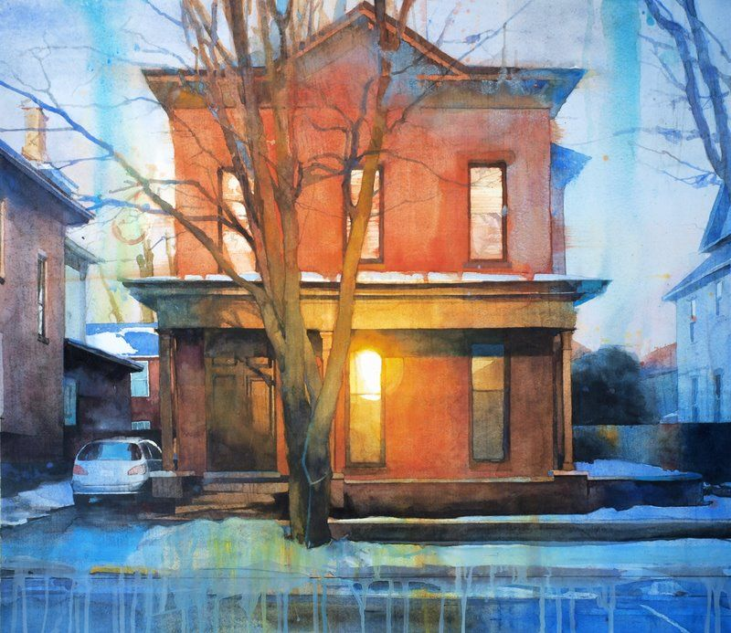 Christopher St Leger Limited Palette Temperature Art Urban