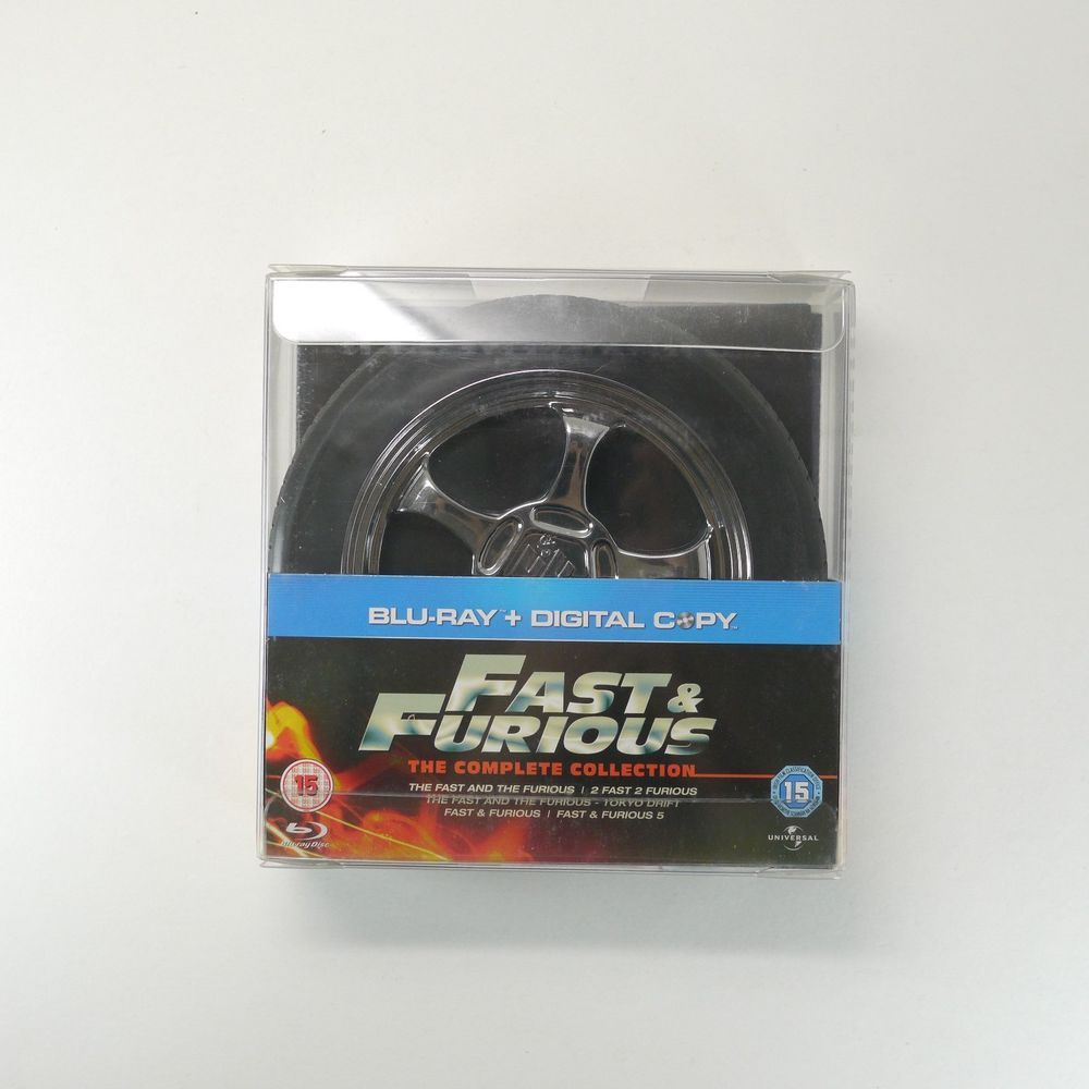 Fast furious the complete collection bluray 5movie
