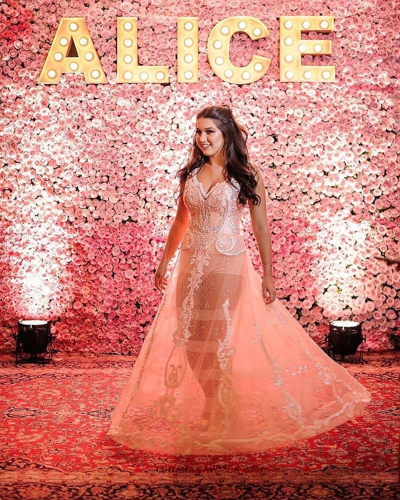 Lujo Vestidos De Fiesta Alice Imagen - Colección de Vestidos de Boda ...