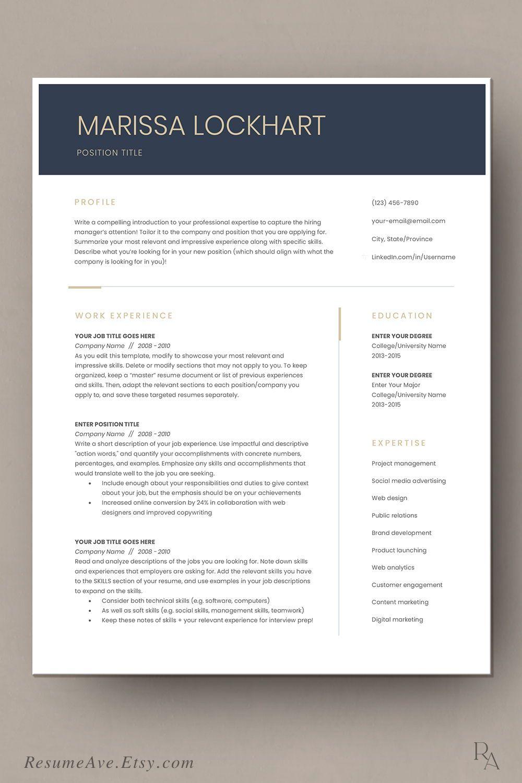 Pin on Executive resume templates