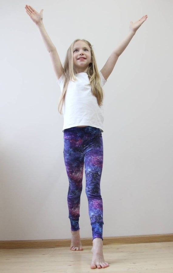 Purple Baby Leggings Toddler Tights Little Girl Pants