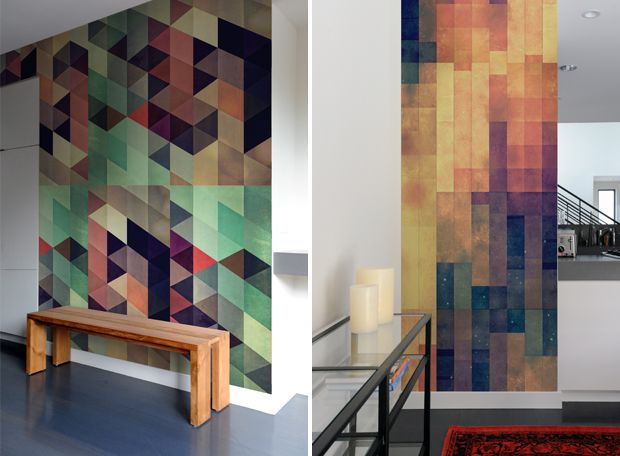 New Geometric Pattern Wall Tiles by Spires. - Blik Wall Decals