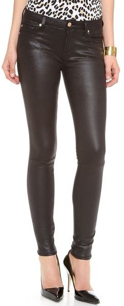 The right pair of leather pants are so wearable for fall. You will find yourself reaching for them more than you think.