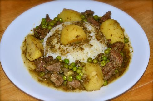 Seco de Res (Beef Stew)