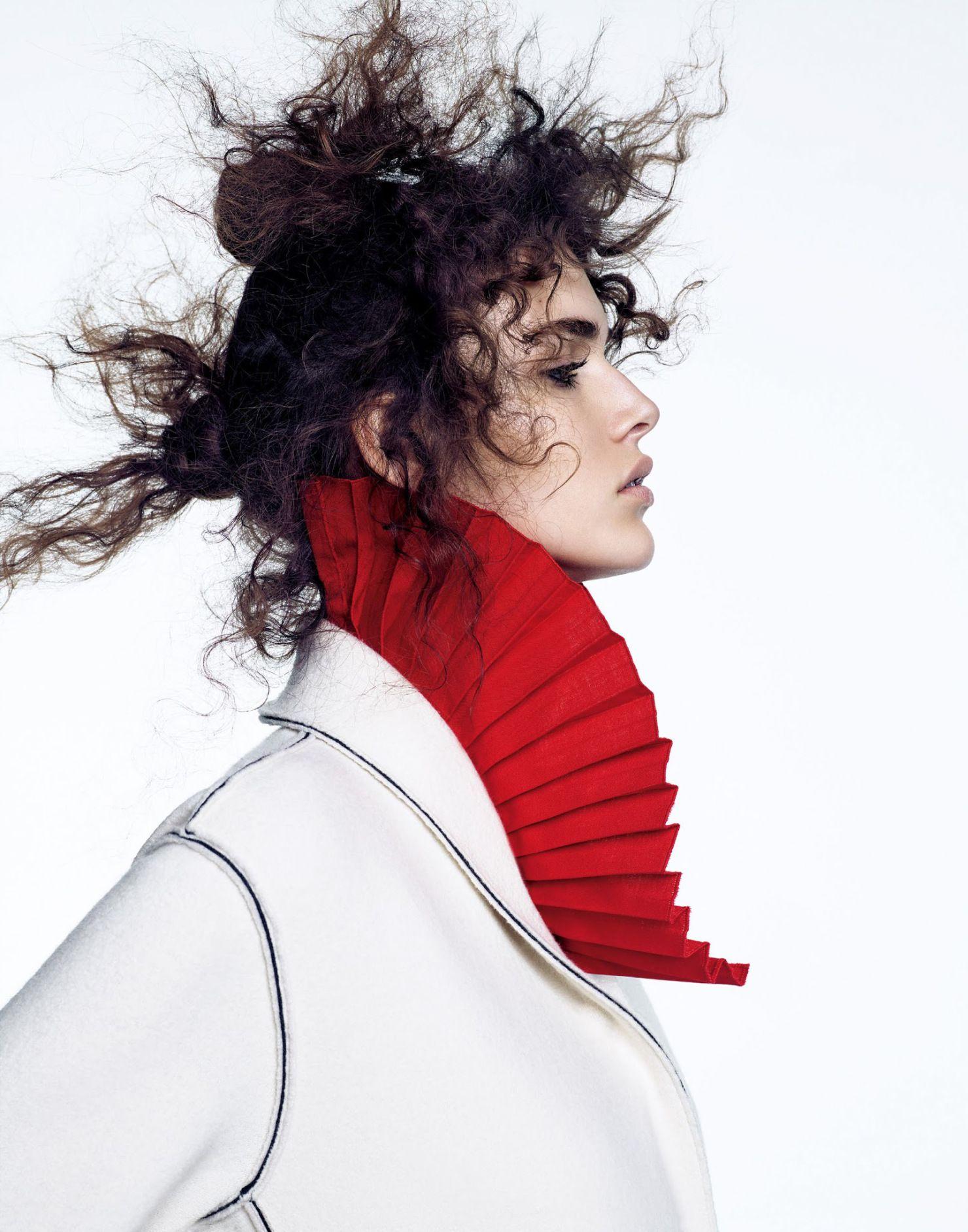 Vanessa Moody by Nathaniel Goldberg for Vogue Japan July 2015