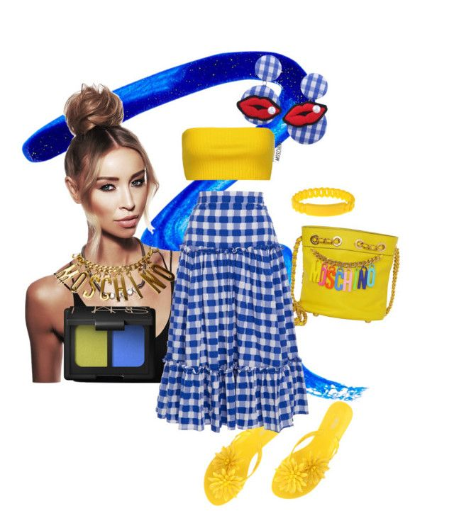 """""""Untitled #17"""" by neeneelondondesignz ❤ liked on Polyvore featuring Givenchy, Moschino, Melissa, MDS Stripes, Marc by Marc Jacobs and NARS Cosmetics"""
