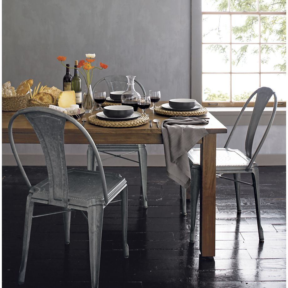 Algo asi lyle side chair in dining chairs crate and barrel