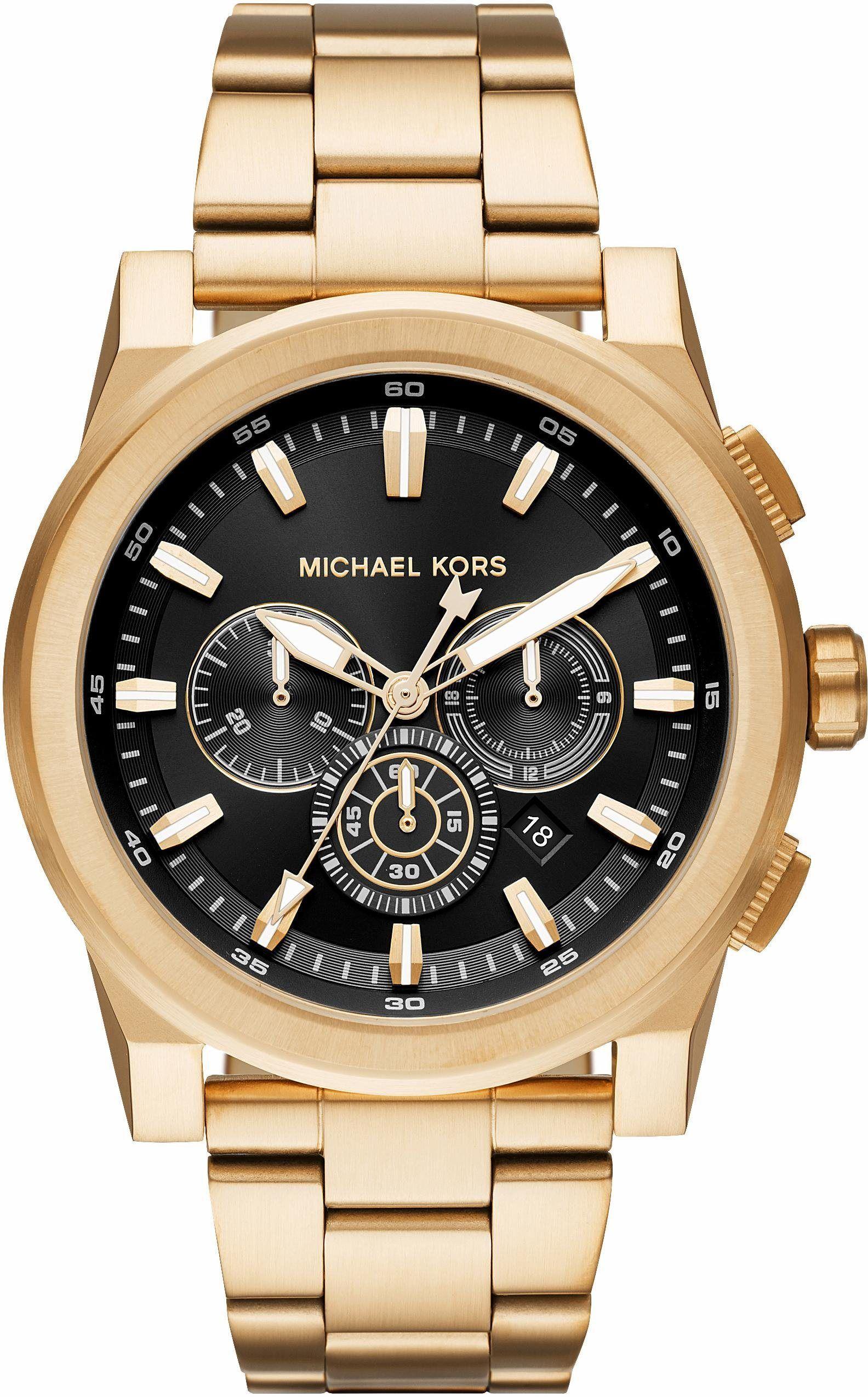 Michael Kors Chronograph Grayson Mk8599 Jetzt Bestellen Unter Https Mode Ladendirekt De He Uhren Herren Uhren Herren Chronograph Michael Kors Chronograph