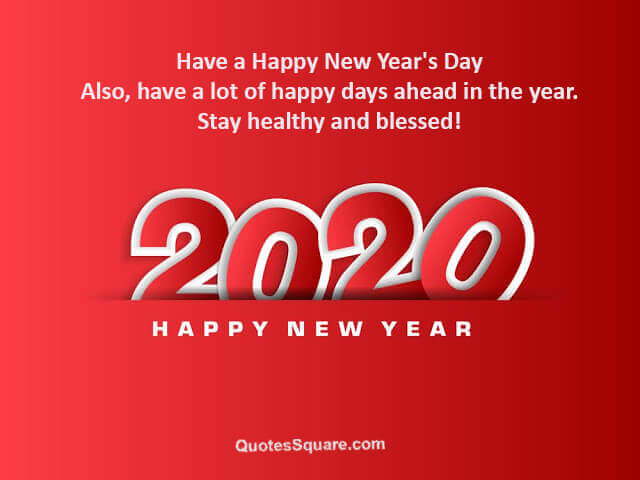 80 Happy New Year 2020 Love Quotes for Her & Him to Wish ...