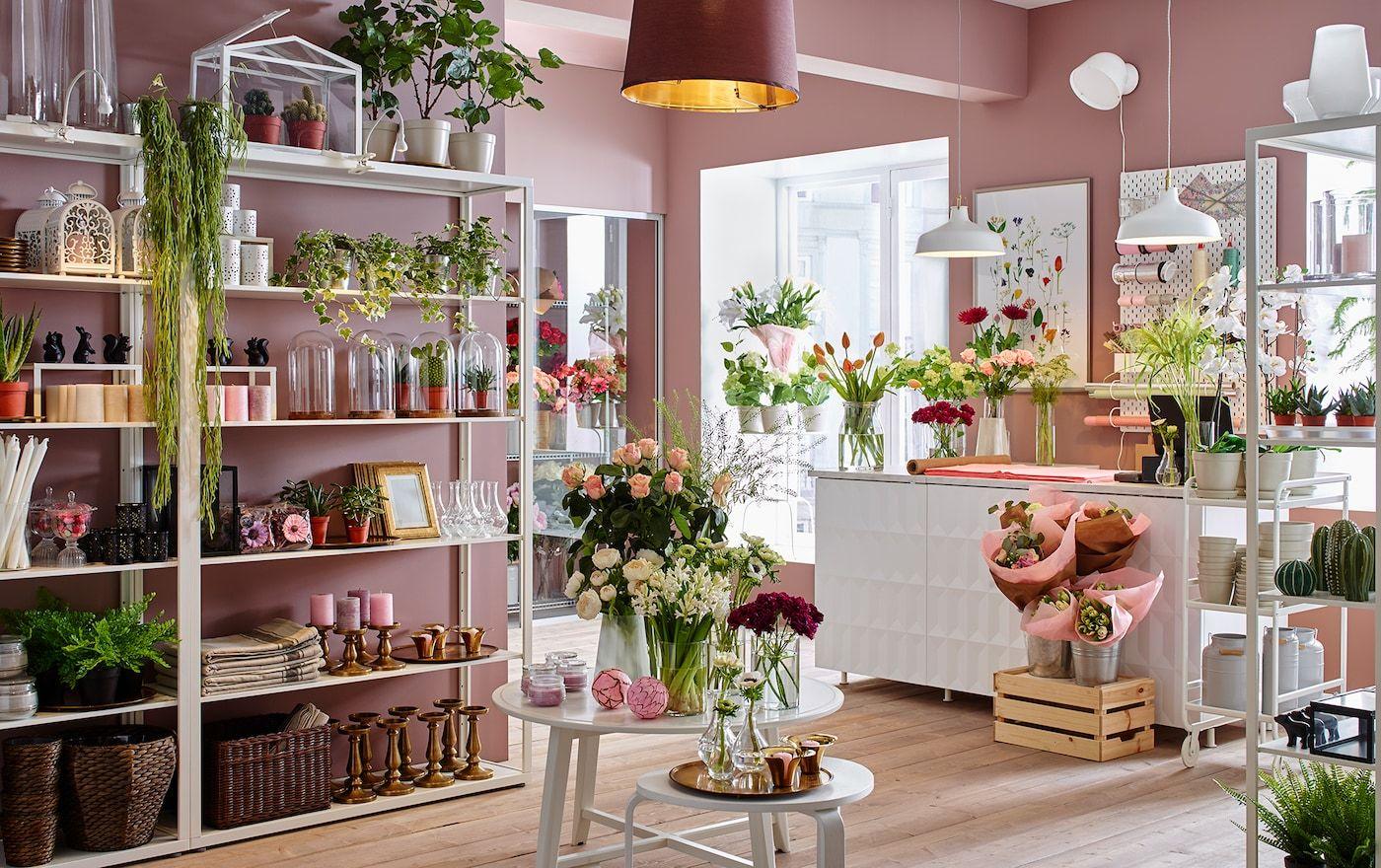 Blumenladen Einrichten Dekorieren Blumenladen Blumenladen Dekor Ladeninneneinrichtung