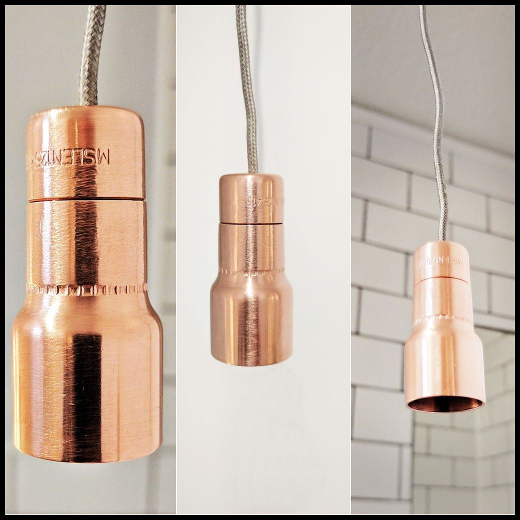 Ridged copper bathroom light pull metals lights and bathroom bring a touch of class to your bathroom with these simple yet stylish copper light pulls aloadofball Image collections