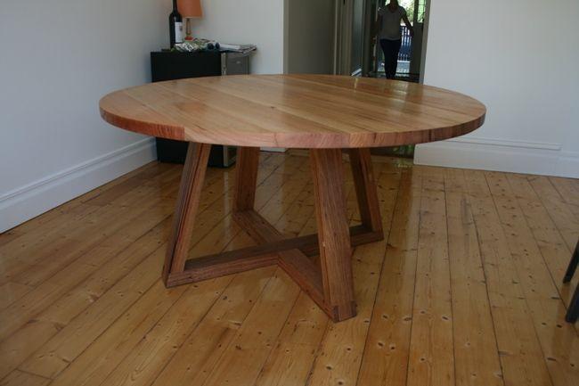 Harwood Dining TableTimberPinterestCircular dining table