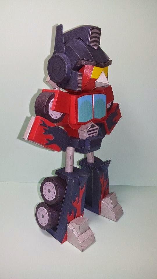 Angry Birds Transformer Red Bird Optimus Prime