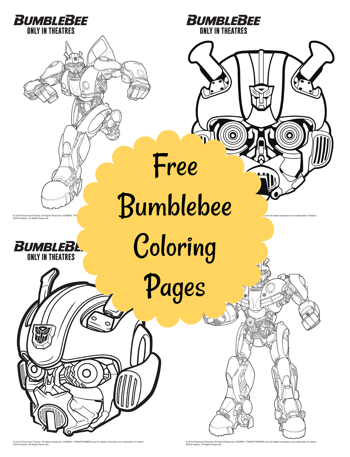 Entenmann S Brings An Unbeelieveable Sweepstakes Free Printables Giveaway Transformers Coloring Pages Bee Coloring Pages Coloring Pages