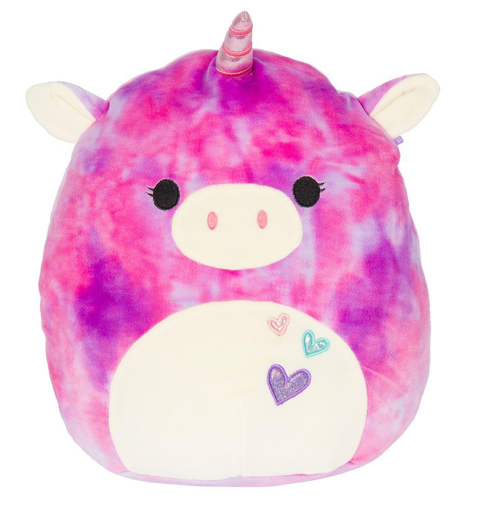 Squishmallow 12 Pink Purple Tie Dye Unicorn Super Soft Plush Walmart Com In 2020 Unicorn Stuffed Animal Animal Pillows Monkey Stuffed Animal