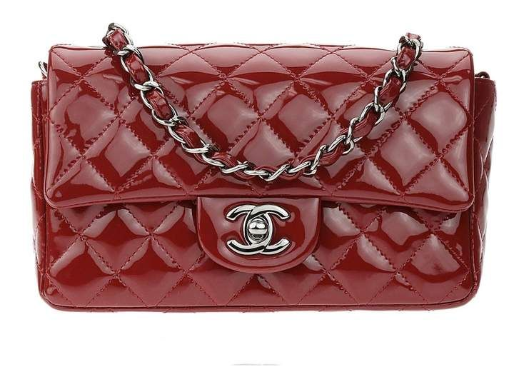 7c4cf98ae2ed Chanel Timeless patent leather crossbody bag | Products in 2019 ...